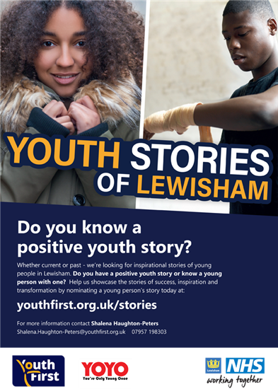 Youth Stories - Nominate a Story
