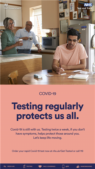 Testing regularly protects us all