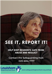 image of LSAB poster - see it, report it